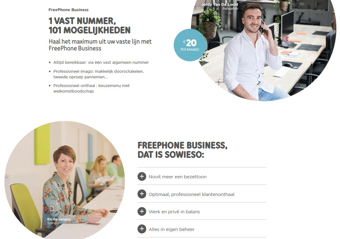 Free - Phone - telenet