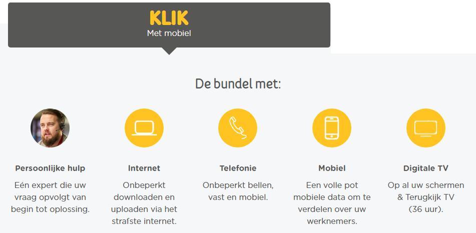 klik - mobiel