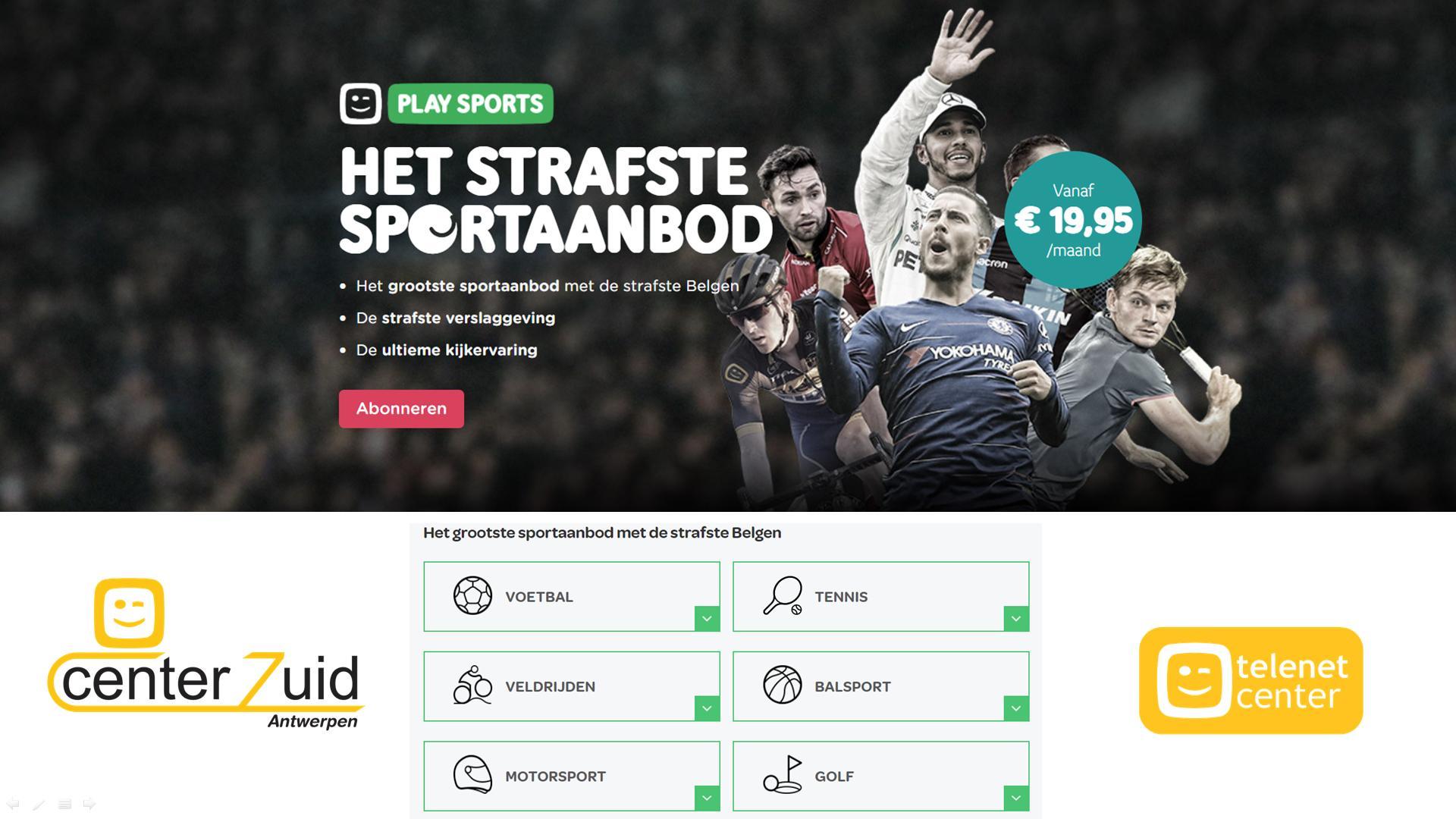 telenet - play - sports