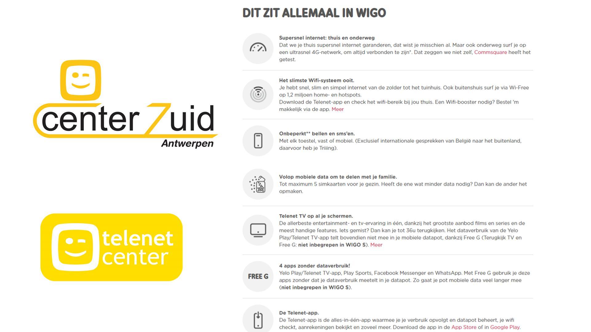 telenet - wigo - mobiel - inhoud